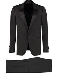 Lanvin Wool And Mohair Two Piece Suit - Black