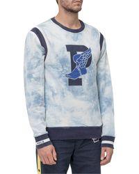Polo Ralph Lauren Indigo Stadium Sweatshirt - Blue