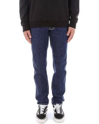 DSquared² Bleached Seams Slim Jeans - Blue