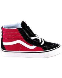 9d8283ad9d Vans Sk8-hi High-top Sneakers in Black for Men - Lyst
