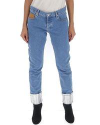 Paco Rabanne Skinny Jeans - Blue