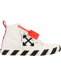 Off-White c/o Virgil Abloh Arrows Patch High-top Sneakers - White