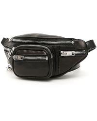 Alexander Wang Attica Leather Belt Bag - Black