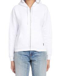 Balenciaga I Love Techno Zipped Sweater - White