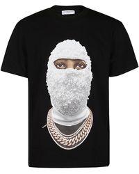 ih nom uh nit Future Archive Print Crewneck T-shirt - Black
