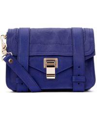 Proenza Schouler Ps1 Mini Crossbody Bag - Blue