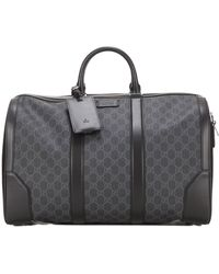Gucci GG Carry-on Duffle Bag - Grey