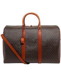 Saint Laurent Monogram 72h Duffle Bag - Brown