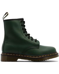 Dr. Martens 1460 Lace-up Boots - Green