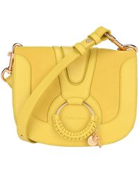 See By Chloé Hana Medium Crossbody Bag - Yellow
