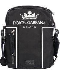 0e44d26b901d Lyst - Dolce   Gabbana  etna  Messenger Bag in Gray for Men