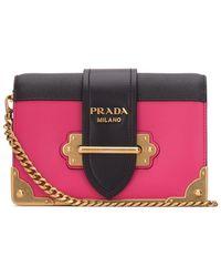 Prada Cahier Shoulder Bag - Multicolour