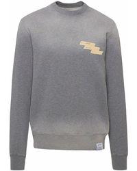 Golden Goose Grey Regular Archibald Sweatshirt