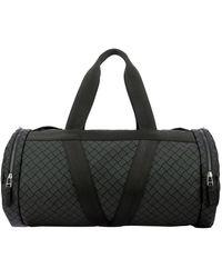 Bottega Veneta Intrecciato Duffle Bag - Black