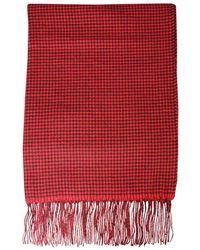 Woolrich Wwac0085frut13625321 Scarf - Red