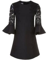 Valentino - Heavy Lace Dress - Lyst