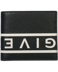 Givenchy - Genuine Leather Wallet Credit Card Bifold Reverse - Lyst
