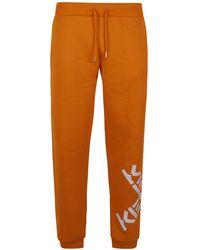KENZO JOGGERS - Orange