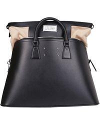 Maison Margiela 5ac Large Tote Bag - Black