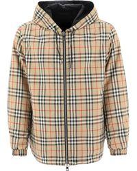 """Burberry """"vintage Check"""" Reversible Jacket - Multicolour"""