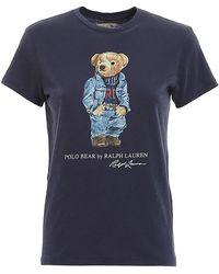 Polo Ralph Lauren Bear Print T-shirt - Blue