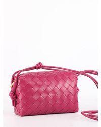 Bottega Veneta Cross-body Pouch - Pink