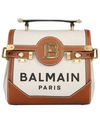 Balmain B-buzz 23 Top Handle Tote Bag - Multicolor