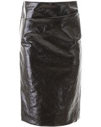 Lemaire Vinyl Skirt - Black
