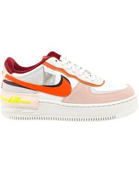 Nike Air Force 1 Shadow Trainers - Multicolour