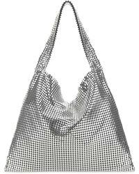 Paco Rabanne Pixel Top Handle Tote Bag - Metallic
