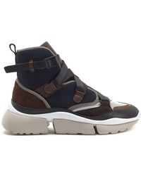 Chloé - Sonnie High-top Sneakers - Lyst