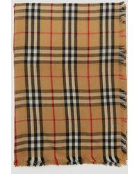 Burberry Vintage Check Scarf - Multicolour