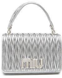 Miu Miu - Matelassé Shoulder Bag - Lyst