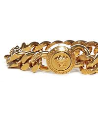 Versace Medusa Logo Plaque Bracelet - Metallic
