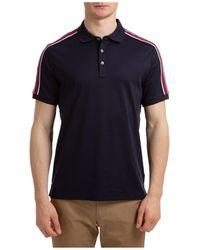 Michael Kors Men's Short Sleeve T-shirt Polo Collar - Multicolour