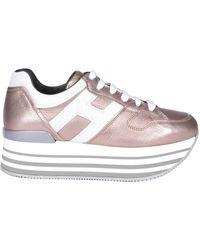 Hogan - Maxi H222 Platform Sneakers - Lyst