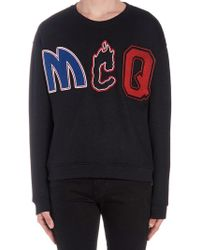 McQ Logo Sweatshirt - Black