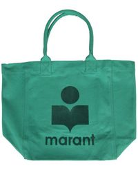 Isabel Marant Yenky Tote Bag - Green