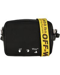 Off-White c/o Virgil Abloh Industrial Shoulder Bag - Black