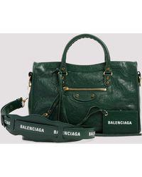 Balenciaga Classic City Small Handbag - Green
