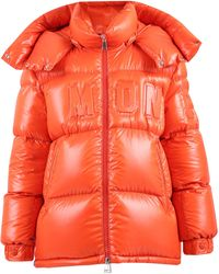 Moncler Padded Down Jacket - Red
