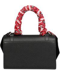 Christian Louboutin Elisa Mini Top Handle Bag - Black