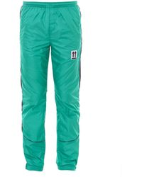 Off-White c/o Virgil Abloh Trail Track Pants - Green