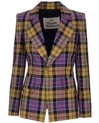 Vivienne Westwood Women's 1401004411885sia101 Multicolour Other Materials Blazer