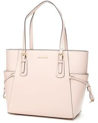 MICHAEL Michael Kors Voyager Leather Tote - Natural