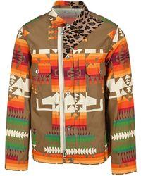 Sacai Archive Print Jacket - Multicolour