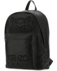 KENZO Kampus Tiger Backpack - Black