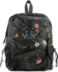 Valentino Nylon Dragonfly Backpack in Black for Men - Lyst a626041fdbead