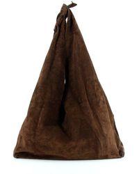 The Row Bindle Shoulder Bag - Brown