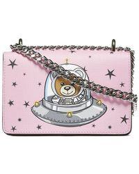 Moschino - Space Teddy Bear Mini Shoulder Bag - Lyst